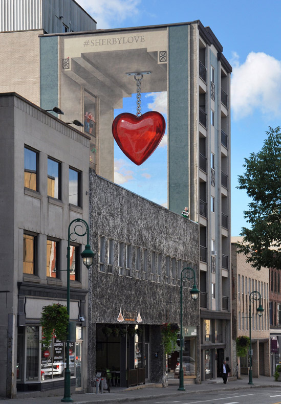 #Sherbylove - Murales Sherbrooke