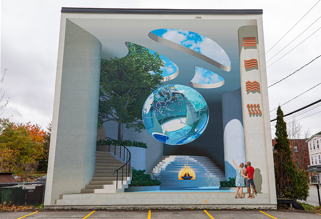 The Fifth Element - Murales Sherbrooke